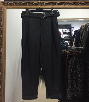 мужские черные брюки в Кыргызстан: Брюки кожанные! Производство Италия! Размер М, Л. Цвет черный