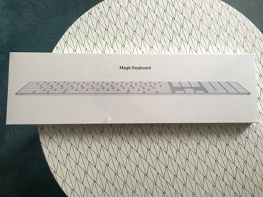 Nova, neotpakovana, apple magic keyboard sa numerickom tastaturom.  - Beograd
