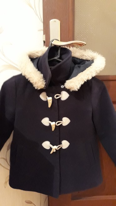 uşaq paltosu - Azərbaycan: Koton firmasının uşaq paltosu satılır. Palto tünd göy rəngdədir
