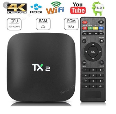 Tx2 quad core android smart tv box 2gb ram, android 6. 01 android tv b - Beograd