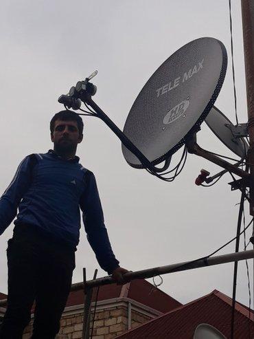 Bakı şəhərində Krosna Krosnu antena. 400 Türk  18 Azəri 22 Rus  10 Avropa Çatdırılma