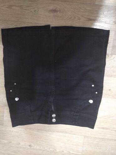 джинсовое платье на пуговицах в Кыргызстан: Продаю джинсовую юбку
