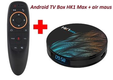 android tv в Азербайджан: Android TV Box + Air maus hediyye  Ram 4GB Yaddash 32GB Android Versiy