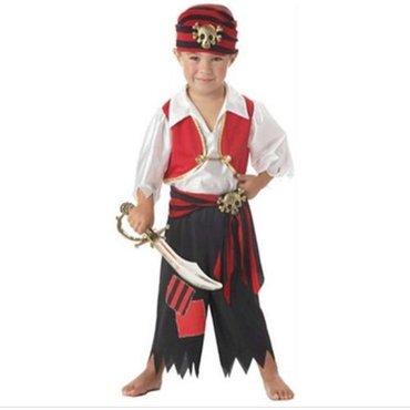 Bakı şəhərində Пиратский костюм. Размер xl рост 130-140 см.
