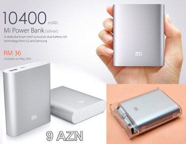 Xiaomi Powerbank 10400 mAh - Bakı