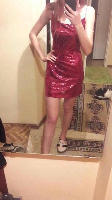 длинное красное платье с разрезом в Кыргызстан: Продаю классное красное платье, полностью в пайетках