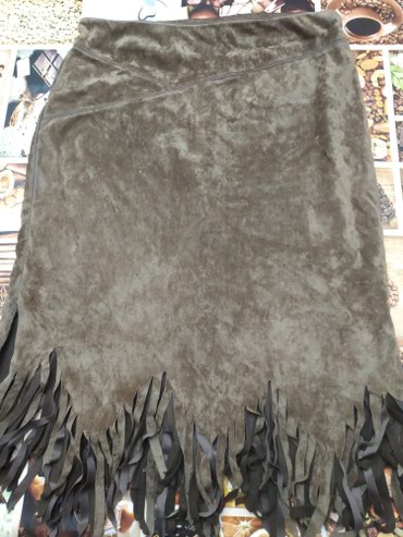 Юбка 50 размер эко замша теплая в Сокулук