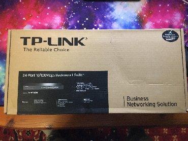 tp link wr740n в Кыргызстан: Коммутатор TP-LINK TL-SF1024 (Новый)