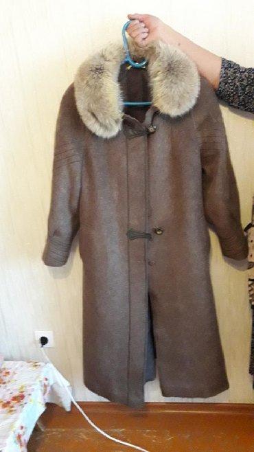 Пальто - Сокулук: Продаю пальто лама размер 48-50. Очень теплый, хорошо сидит