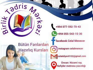 rus dili - Azərbaycan: Birlik Tedris Merkezinin qeydiyyat başladi 1.Mektebeqeder hazirliq he