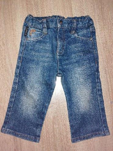 Pantalone farmerice br - Srbija: Original ARMANI baby farmerice za dečaka, broj 74,za uzrast 12