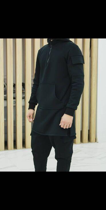 мужская компрессионная одежда в Кыргызстан: Спортивный костюм начосом для зимы из турецкой ткани.  Мужская мусул