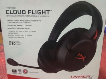наушники real el в Кыргызстан: Наушники Cloud flight абсолютно новые(в коробке с пломбами)(в магазине