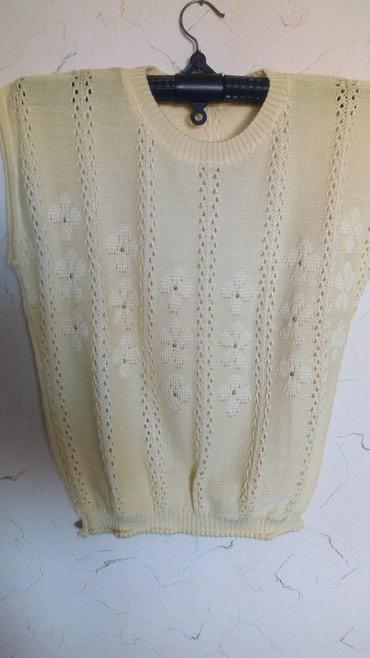Bluza zenska nova pamucna..obim grudi do..110..duz..60cm..nezno zuta. - Kraljevo