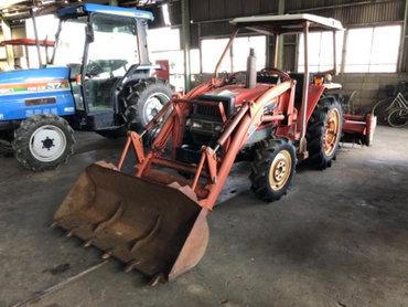 Продается надежный японский мини трактор Yanmar F24D. Оснащен 3х