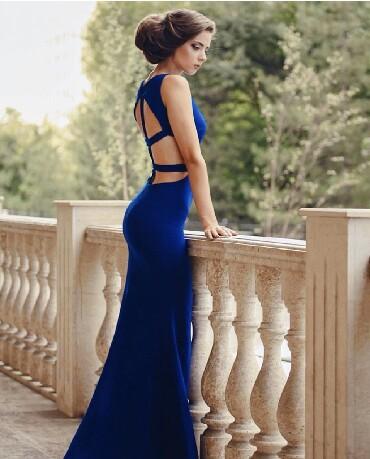 Личные вещи - Баетов: Продаю вечернее платье, надевала один раз было куплено в магазине
