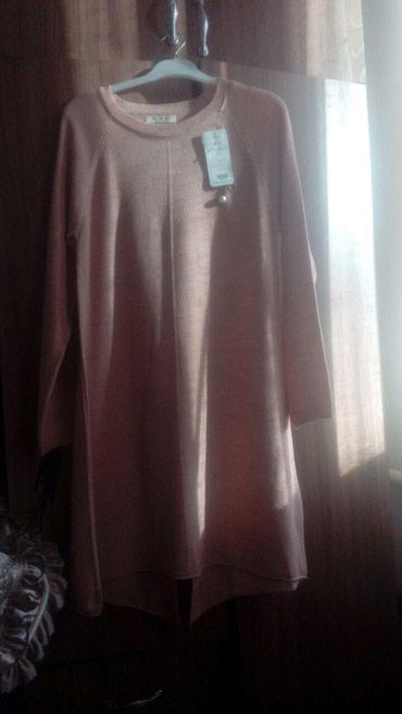 трикотажные платья турция в Кыргызстан: Распродажа! трикотажные платье туника, Турция отл качество, новое