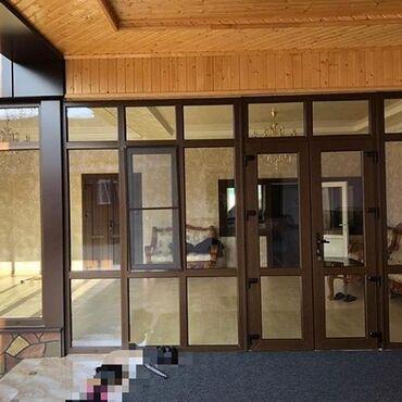 ustanovka windows s vyezdom na domu в Кыргызстан: Пластиковые окна
