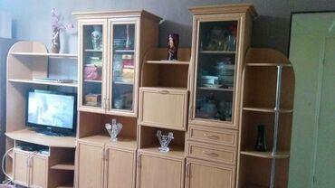 Мебель - Бишкек: Стильная, удобная, практически новая горка из 5 модулей. Общая длина