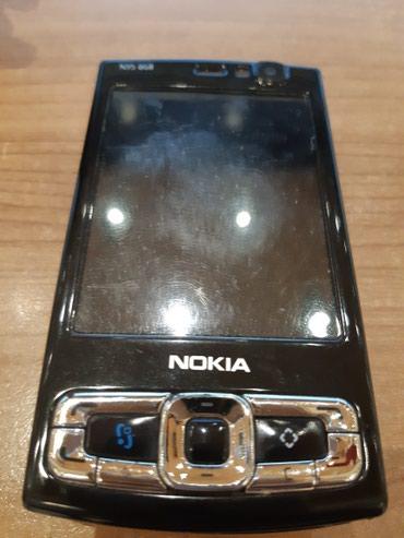 Bakı şəhərində Nokia N95. Islemir lentasi xarab olub. Her bir seyi originaldi deyisen
