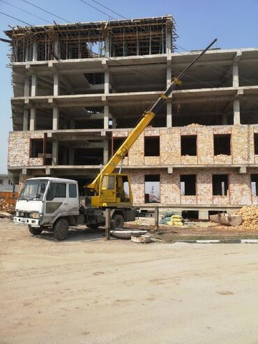 услуги фрезеровщика в Кыргызстан: Кран | Стрела 21 м. 5 т | Борт 5 кг