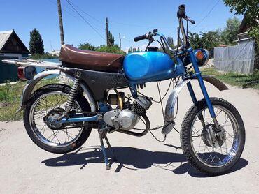 Мотоциклы и мопеды - Кызыл-Суу: Продаю мопед карпаты.Состояние отличноеновая поршневая ещё не