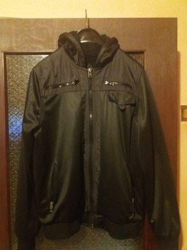 Muska jakna sa kapuljacom i krznom postavljena kao nova broj XL na - Valjevo