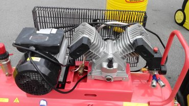 Bakı şəhərində Yeni orijinal 100 litr lik kompressor forsage.Catdirilma ve qarantiya