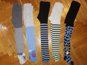 Dečija odeća i obuća - Smederevska Palanka: Duge čarape za dečake, C&A, Dopodopo. Vel 98-104Kao noveKomad