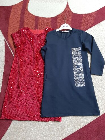 Платье 116 см на 6 лет Турция каждое по 700 сом как новое