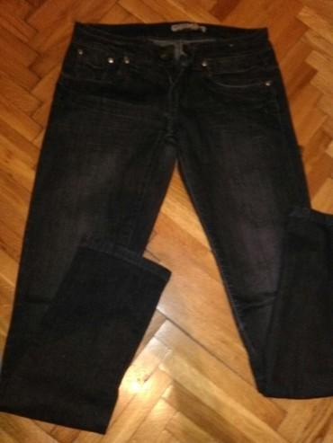 Ženska odeća | Kovin: Crne italijanske farmerke miss capri, vel s, skroz uske, pamuk