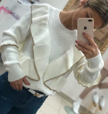 Ptelep džemper premekana trikotaža izuzetno kvalitetan mekan kao