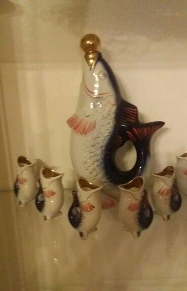 balıq ovu - Azərbaycan: Antikvar baliqlar
