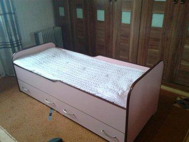 Продаю детскую кровать, почти новая.Полный комплект. Размеры: длина 1. в Бишкек