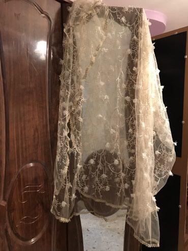 Шикарный палантин -шарф накидка для невест на келин салам был сшит