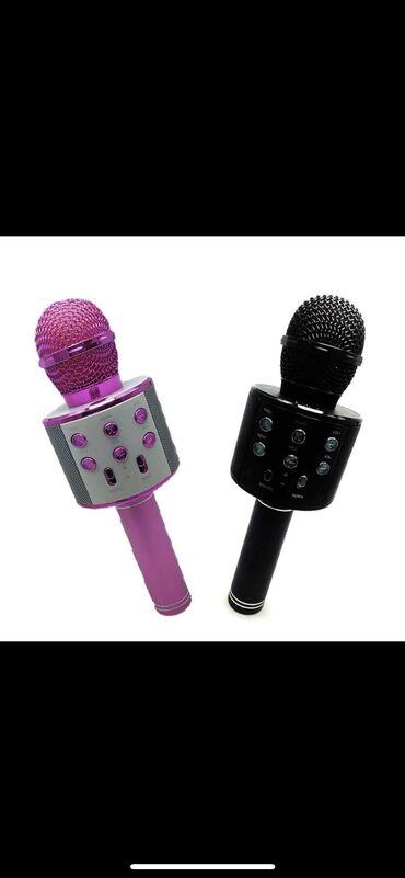 Karaoke mikrafon.  Keyfiyyətə tam zəmanət Metrolara pulsuz çatdırılm