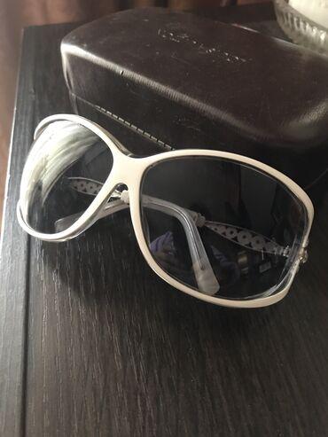 Маски, очки - Азербайджан: Продаю очки Kristian Diorбелого цвета,куплены очень дорого,в