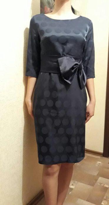 lux материал в Кыргызстан: Платье турецкое 40(46)р, материал как атлас