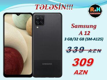 """Samsung s 5 - Azərbaycan: Yeni ModelSamsung Galaxy A 12 Ekran : 6.5"""" PLS IPSAndroid : 10.0Ram"""