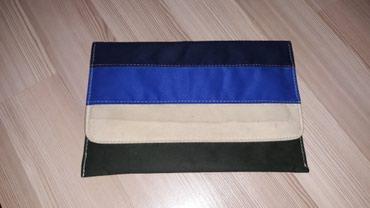 Pismo torbica, sa lancem. Prednja strana torbe teget, kraljevsko - Nis