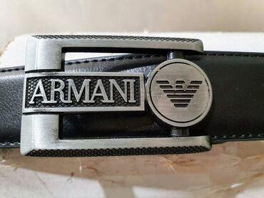 Nov,Armani kozni kais