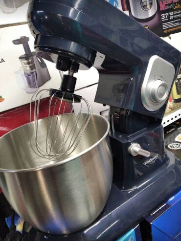 тесто каталка в Кыргызстан: Тестомес Техномир HSM-09 Миксер Планетарный Чашка -6.5 л Скорость 10 у