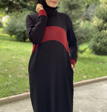 размера л в Кыргызстан: Новинка Прямое платье водолазка! По бокам карманы!Ткань Турецкая