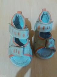 Todorove kozne sandalice  za  decaka  broj 19 kao nove  bez ostecenja - Batajnica