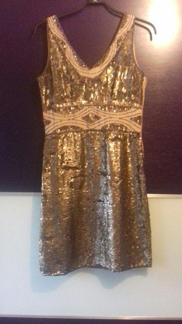 svečana haljinica u paricama jednom nošena velicina L - Novi Pazar