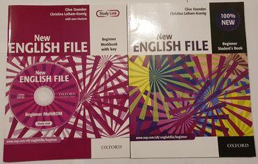 New English File Beginner. Disklərlə bir yerdə 5 manat