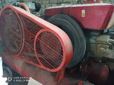 мойка для кафе бу в Кыргызстан: Новый компрессор 3цилиндров 8 атм 3куб.минут 15кв дизельный мотор с