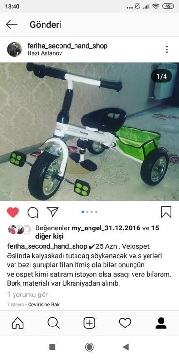 Bakı şəhərində 25 azn velosped