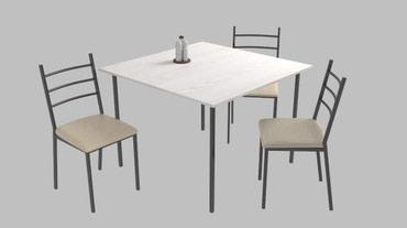 stol kuhannyj в Кыргызстан: Столы стулья! мебель для той кана, кафе, ресторанов, столовых Комплект