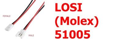 LOSI (Molex) 1 par muško/žensko sa kablom 15 cm - Novi Sad